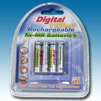 4X NIMH AAA 1100MAH Batteries