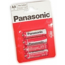 4X  AA  Panasonic  Batteries
