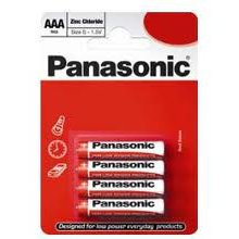 4X  AAA  Panasonic Batteries