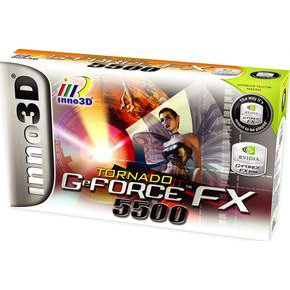 Inno3D FX 5500 256MB DDR DVI AGP Graphics Card