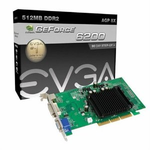 EVGA Geforce 6200 512MB DDR2 AGP
