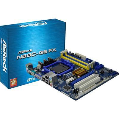 Asrock N68C-GSFX Skt AM2 Motherboard