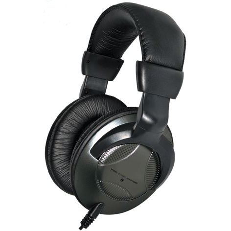 Computer Gear Leather Headset Deluxe