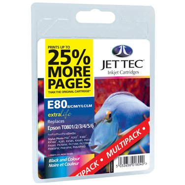 Jettec E80 Multi Pack R265/360/560