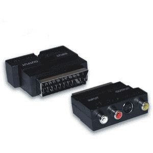 Scart-2 Phono SVID Adapter
