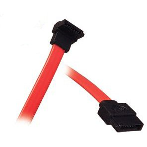 500MM Right Angled Sata Cable x2