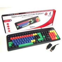 BCL Coloured Keyboard Lower/Uppercase