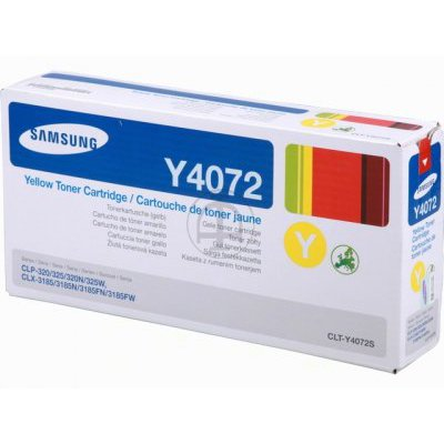 Samsung Y4072 Yellow Toner CLP-325 Printer