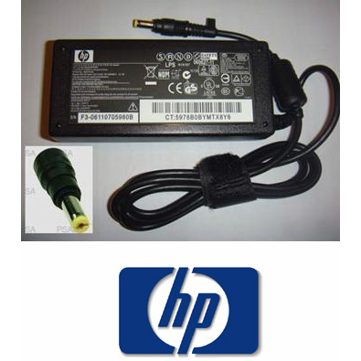 HP 18.5V 3.5A Yellow Tip Power Supply