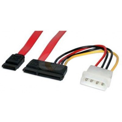 Sata Data and  Molex to Sata Power and Data Cable