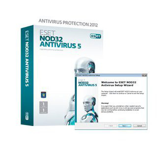NOD32  Antivirus Home (1 USER)