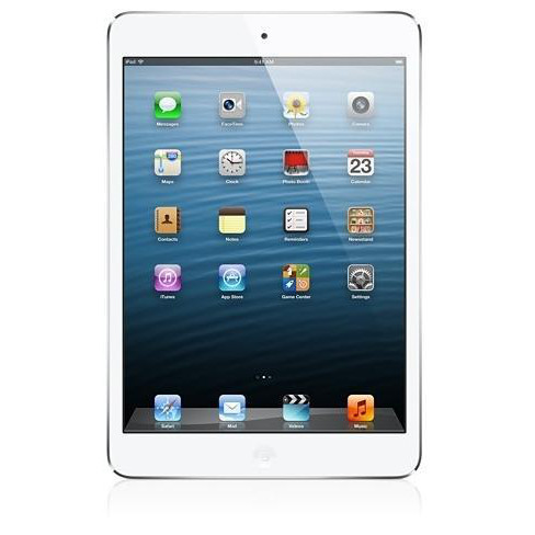 iPad Mini 16GB Wi-Fi White and Silver