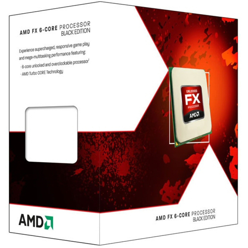 AMD Core FX6300 3.8GHZ Bulldozer Black Edition AM3+