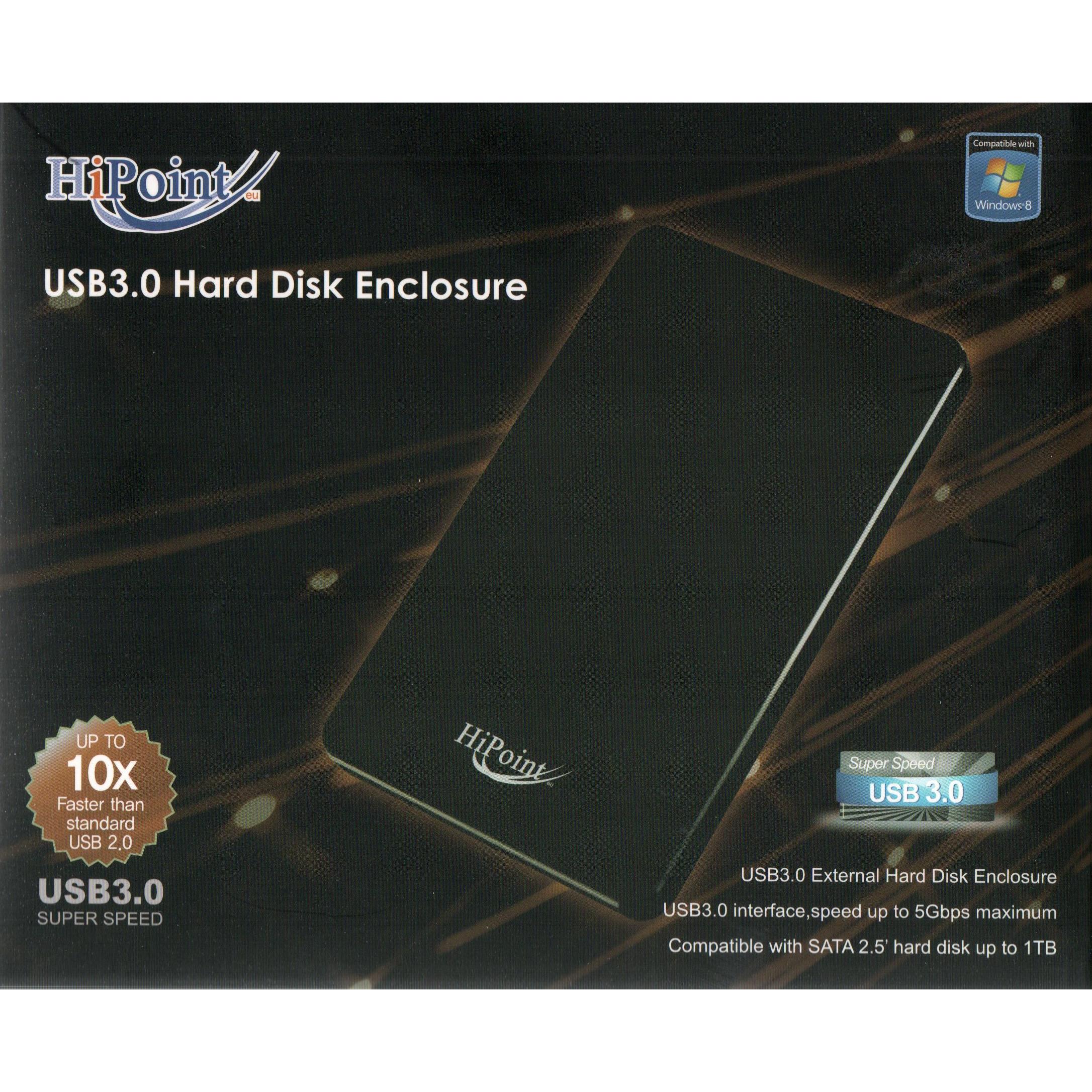 HiPoint USB 3 Hard Drive 2.5