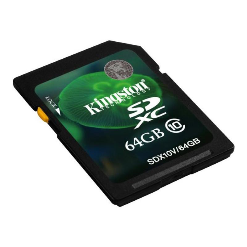Kingston Digital 64GB Class 10 SDXC SD Card