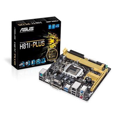 Asus  H81I-Plus Skt 1150 Mini ITX USB 3