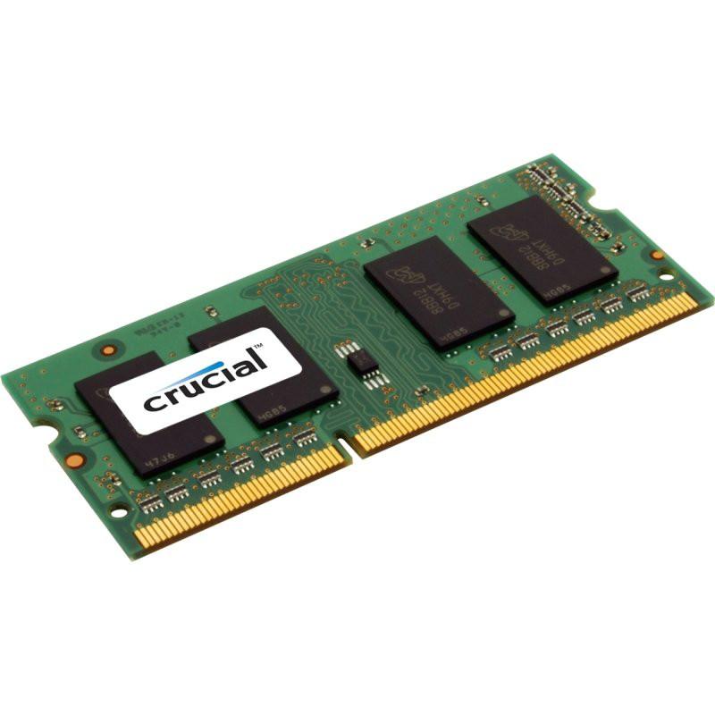 Crucial 4GB DDR3L 1.35v 1600MHz Laptop Memory