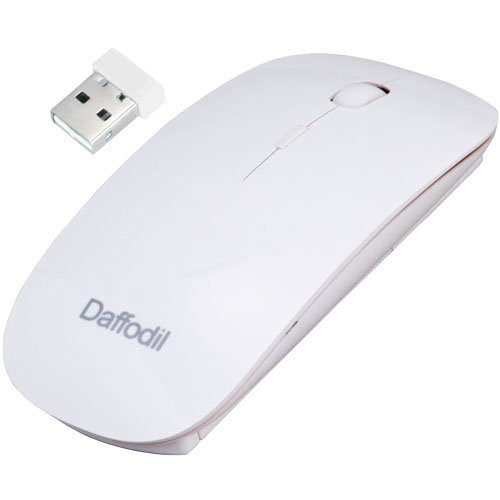 Daffodil 2.4Ghz Wireless Mouse White