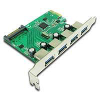 Best Connectivity PCI-E to USB 3.0 4 Port Card,