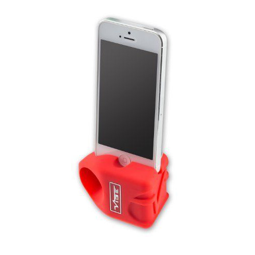 Vibe Slick Rok Speaker for iPhone 5/5S - Red