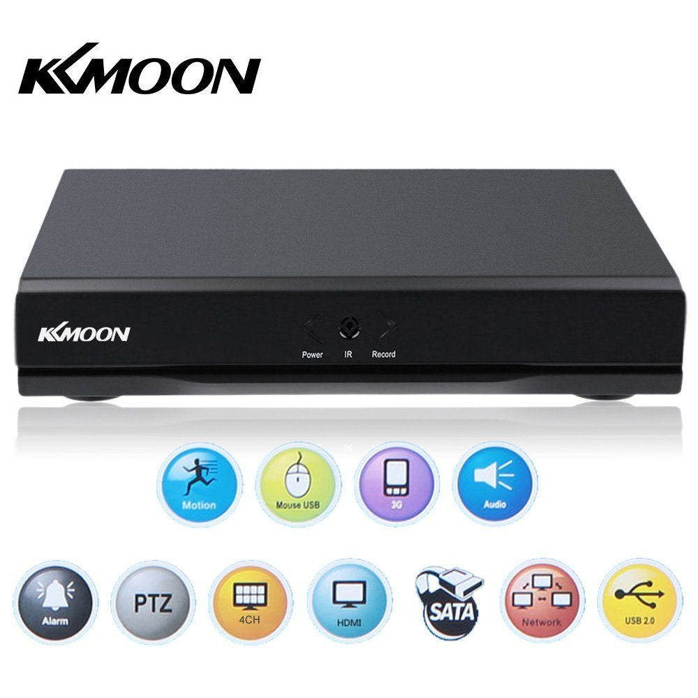KKmoon 4 Channel Standalone CCTV DVR Recorder