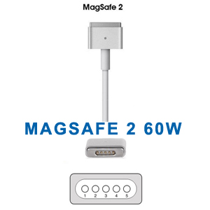 Apple MacBook Magsafe 2  16.5V 3.6A 60W AC Adapter Charger