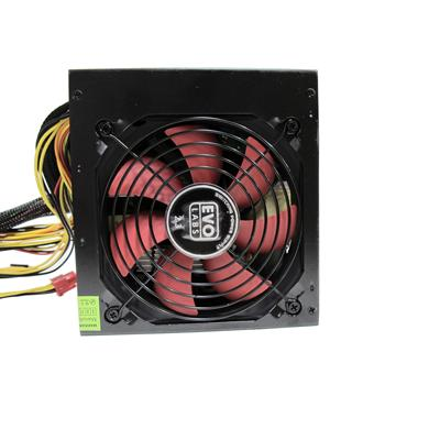 Evo Labs BR750-12R 750W 12cm Red Fan Silent PSU