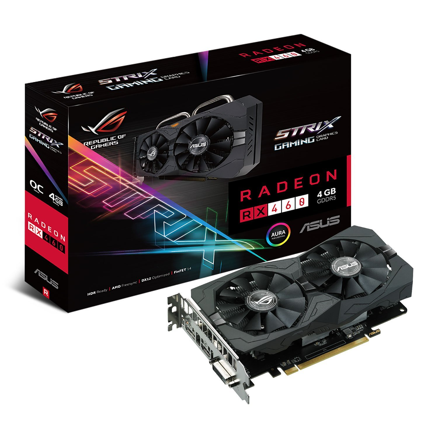 Asus Radeon RX 460 4GB STRIX Gaming