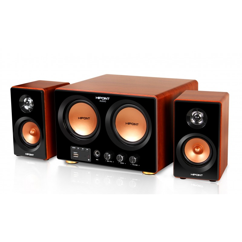 HiPoint 2.1 Channel Amplifier Speaker System