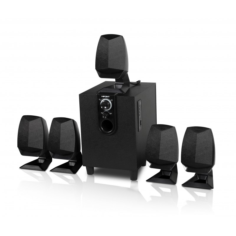 HiPoint 5.1 Channel Surround Sound Speaker System
