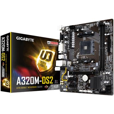 Gigabyte GA-A320M-DS2 AMD Socket AM4