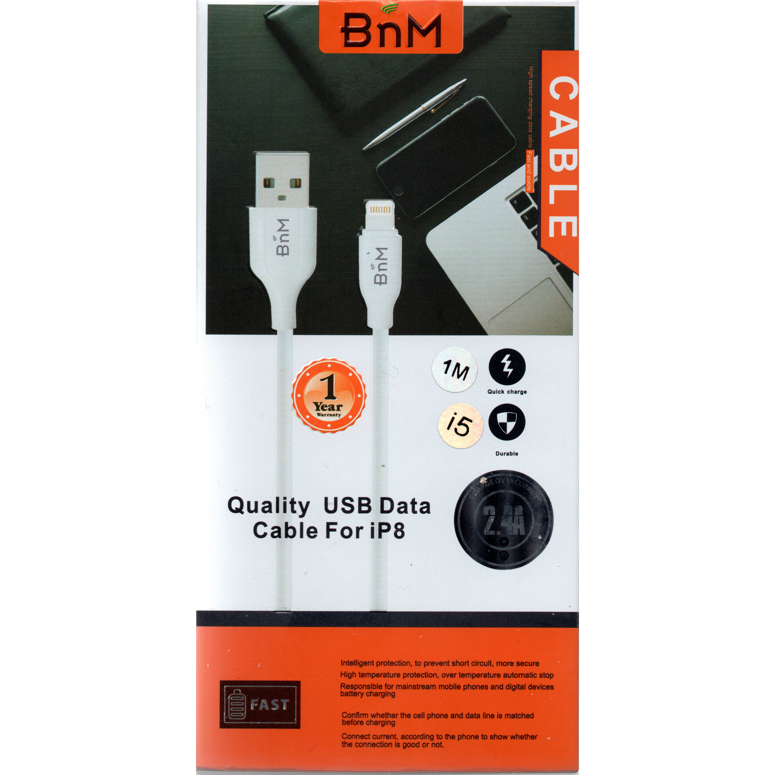 BnM iPhone 5/6/7 Charging Cable