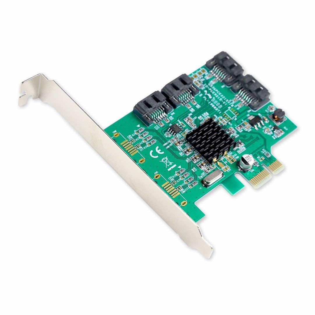 Iocrest 4 Port Sata Card PCI-E
