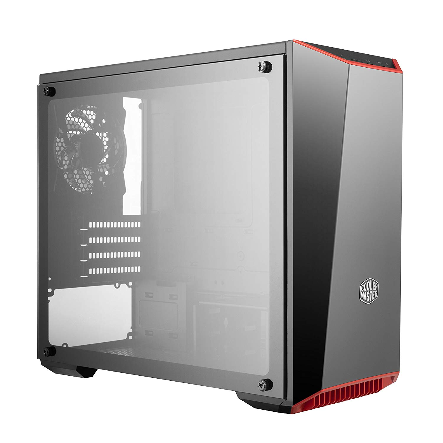 Cooler Master MasterBox Lite 3.1 TG Mirror Front Panel Side Tampered Glass