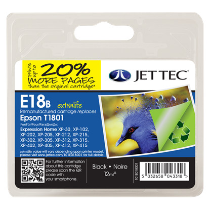 Jettec E18B Expression Home XP-30  XP-102 202 205 305 405
