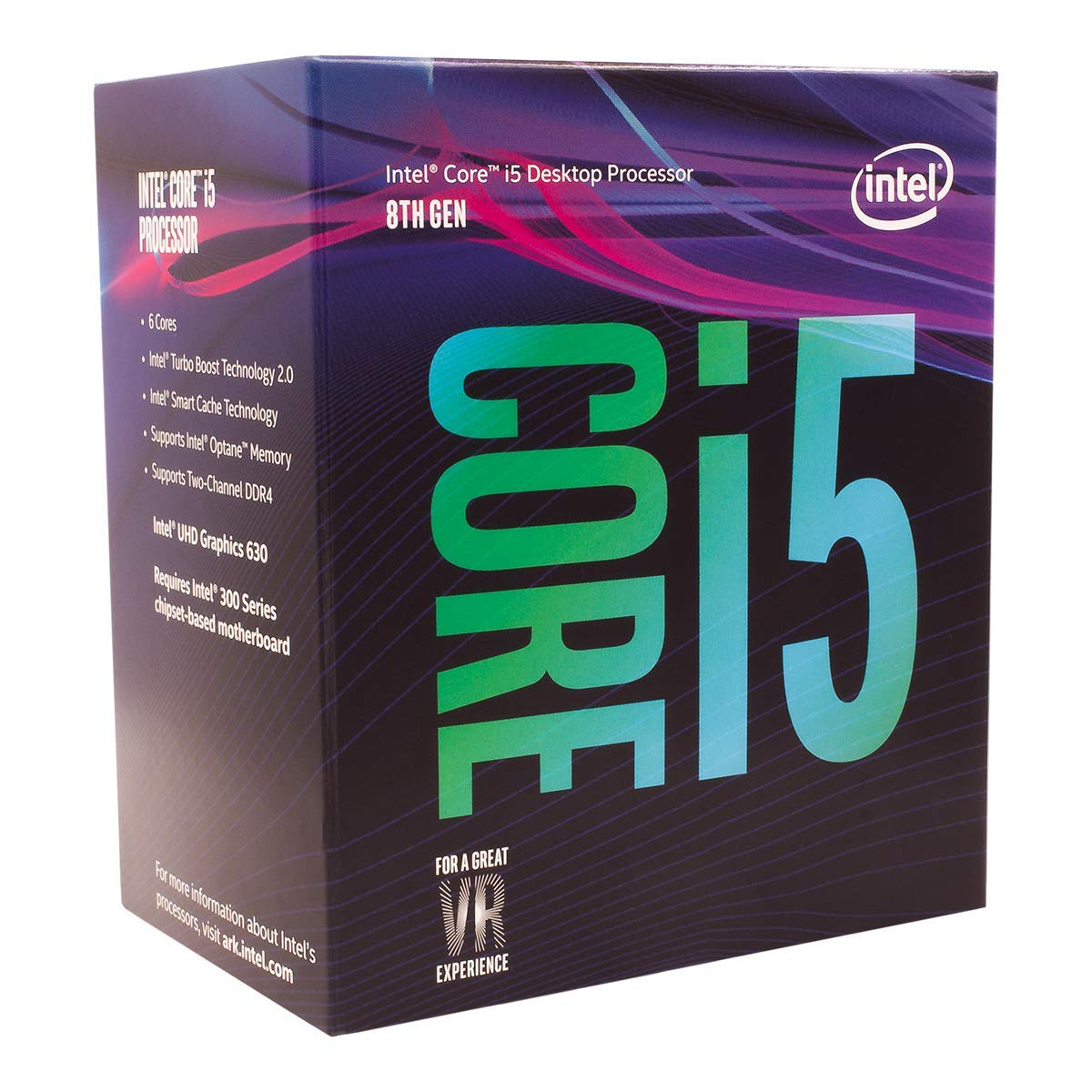 Intel Core i5-8400  (1151/Hex Core/2.80GHzCoffee Lake/65W/Graphics
